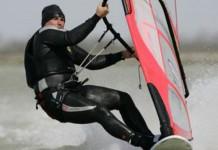 Record de vitesse 2005-Planche à voile-Sainte Marie de la mer-Finian Mayard