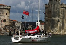 Arrivée du Global Challenge à La Rochelle