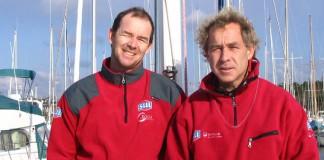 Roland Jourdain et Jean-Luc Nélais