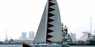 Le catamaran Doha 2006