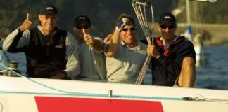 Ed Baird et le Team Musto