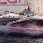 Francis Joyon à bord d´IDEC