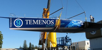 Mise à l'eau Temenos II Dominique Wavre