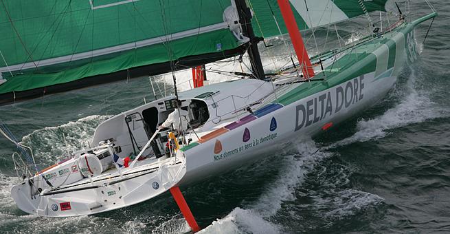 Premiers bords 60 pieds Delta Dore