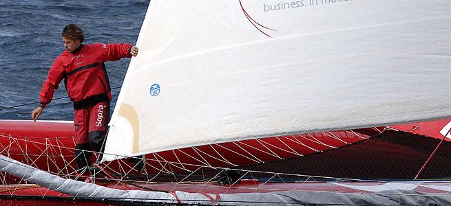 Antoine Koch Sopra Group Route du Rhum 2006