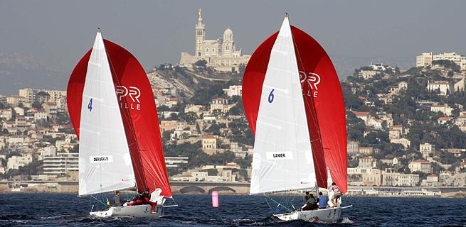 Marseille International Match Race 2007 journée 1