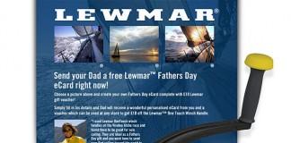 Lewmar - OneTouch - Fête des pères