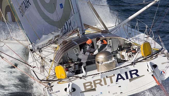 Le Cléac-h / Troussel sur Brit Air