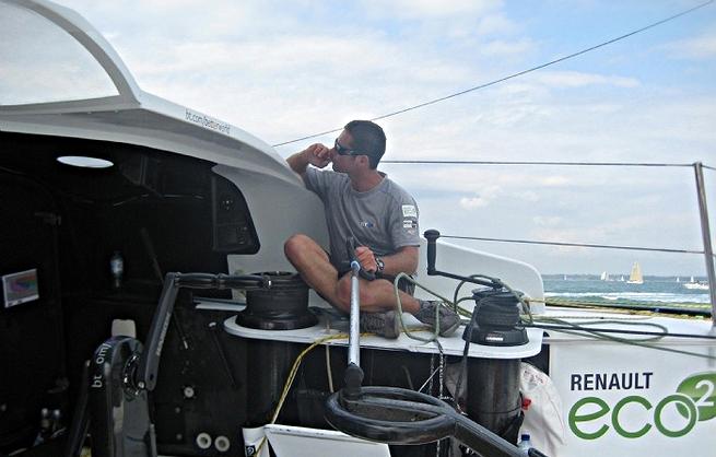 Sebastien Josse - Fastnet Race