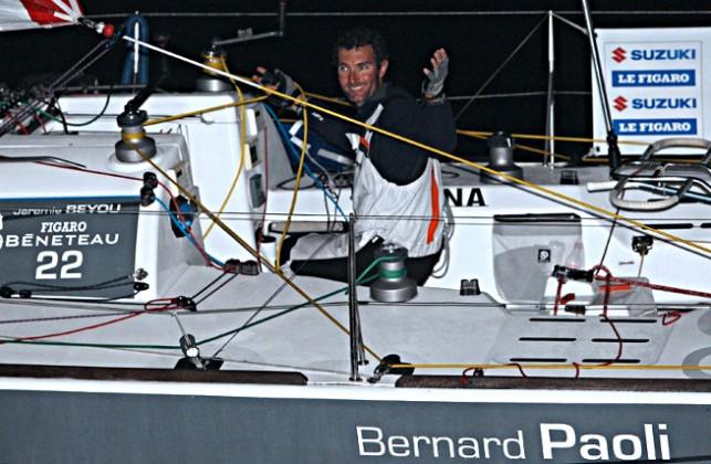 Jérémie Beyou vainqueur à Dingle