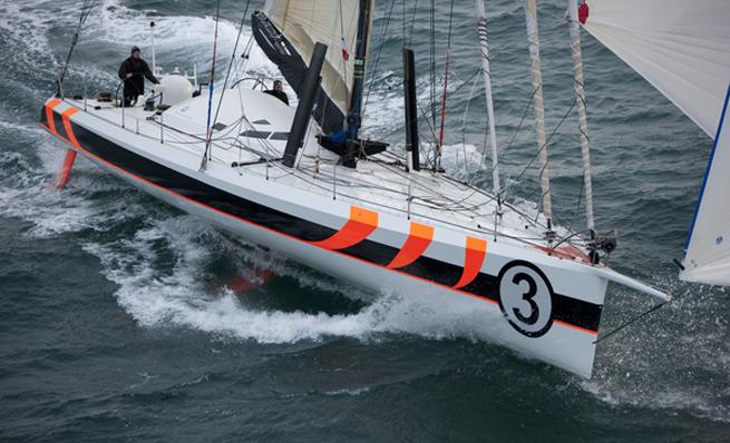 Mike Golding Yacht Racing TJV 2009