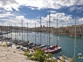Malte avant la Middle Sea race 2010