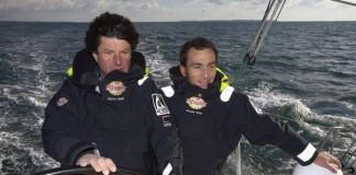 Jean Le Cam et Bruno Garcia Président