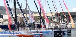 La flotte à quai à Barcelone