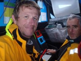 Peyron et Dick dans le Pacifique