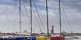 La flotte à Punta del Este