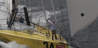 Brad van Liew au départ de Charleston