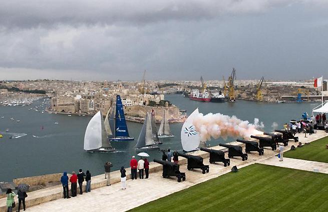Départ Middle Sea Race 2011