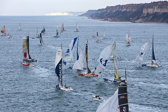 Départ 2011 Transat Jacques vabre