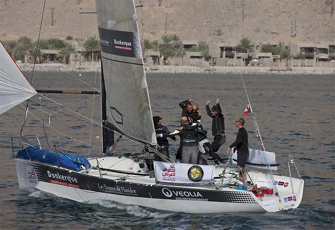 Courrier Dunkerque 4e étape tour d`Arabie