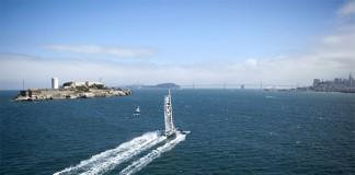 Hydroptère à San Francisco