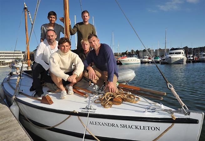 Expédition Shackleton équipage