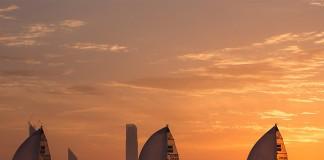 Départ d`Abu Dhabi