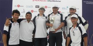 Team AISM Vainqueur Tour d`Arabie
