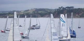Départ 2e étape Transgascogne 2013