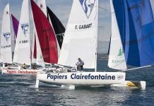 Gabart Trophée Clairefontaine 2013