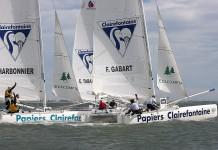 Gabart et Charbonnier Trophée Clairefontaine 2013