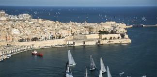 Départ Middle Sea Race 2013