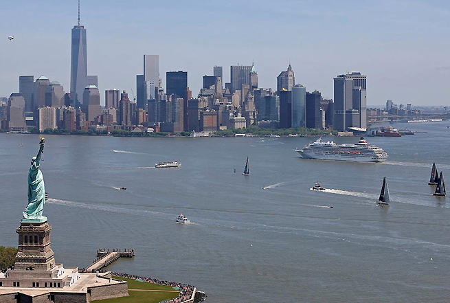 Flotte à New York