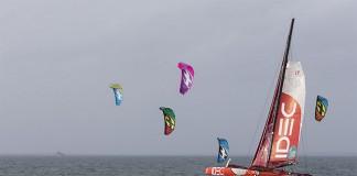 IDEC et kitesurfeurs