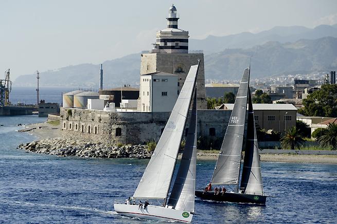 Cantankerous et Black Pearl Middle Sea Race