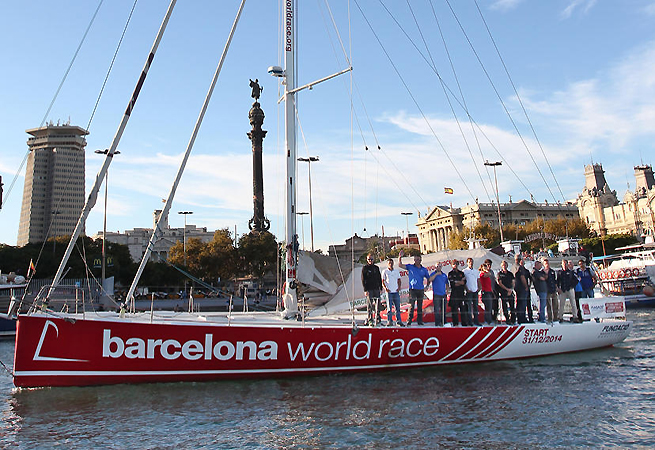 Skippers Barcelona World race