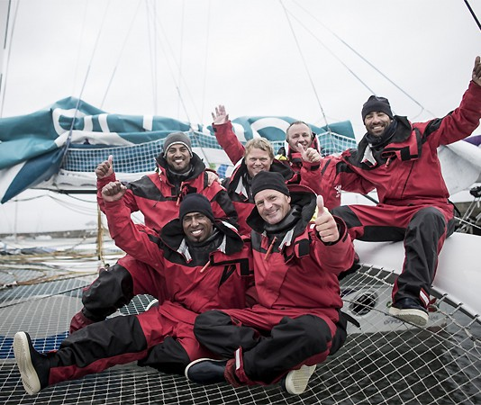 Gavignet Tour d`Irlande Oman Sail