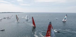Course in-port de Lorient