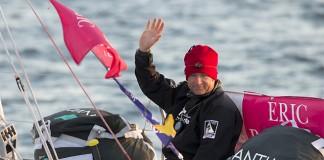 Yann Eliès au large du Finistère