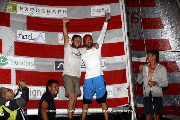 Ian Lipinski (Entreprises Innovantes) et Julien Pulvé (Novintiss)