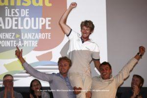 Podium Proto © Jacques Vapillon / Mini Transat Îles de Guadeloupe