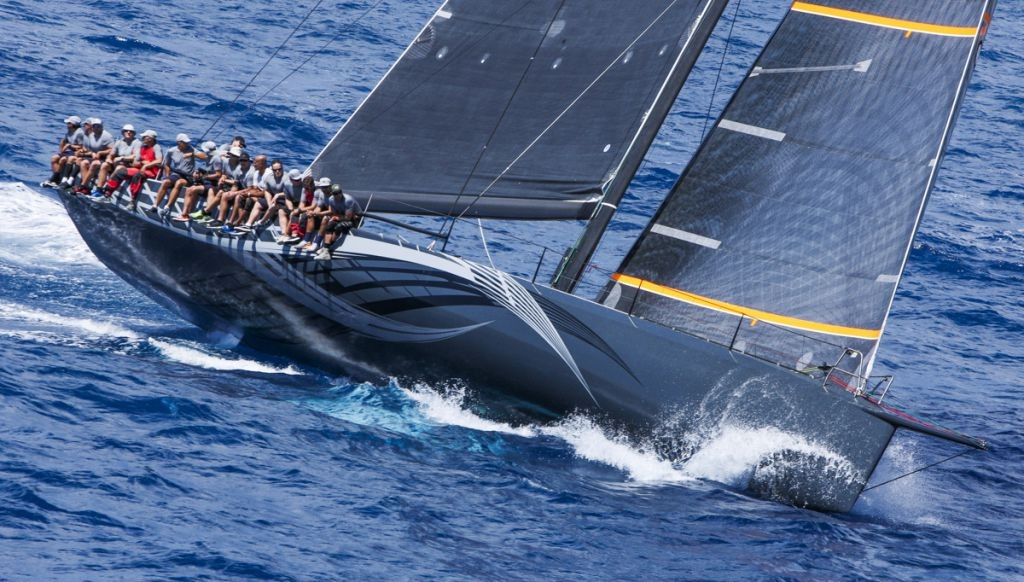George Sakellaris' Maxi72, Proteus (USA) has been declared the overall winner of the 2016 RORC Caribbean 600 © RORC/Tim Wright