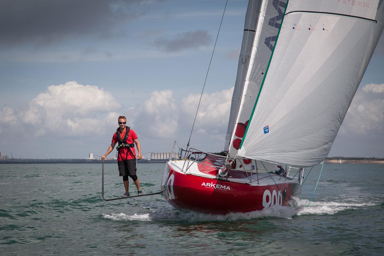 ARKEMA 3 - Proto Mini 6.50 N°900 - Skipper : Quentin Vlamynck