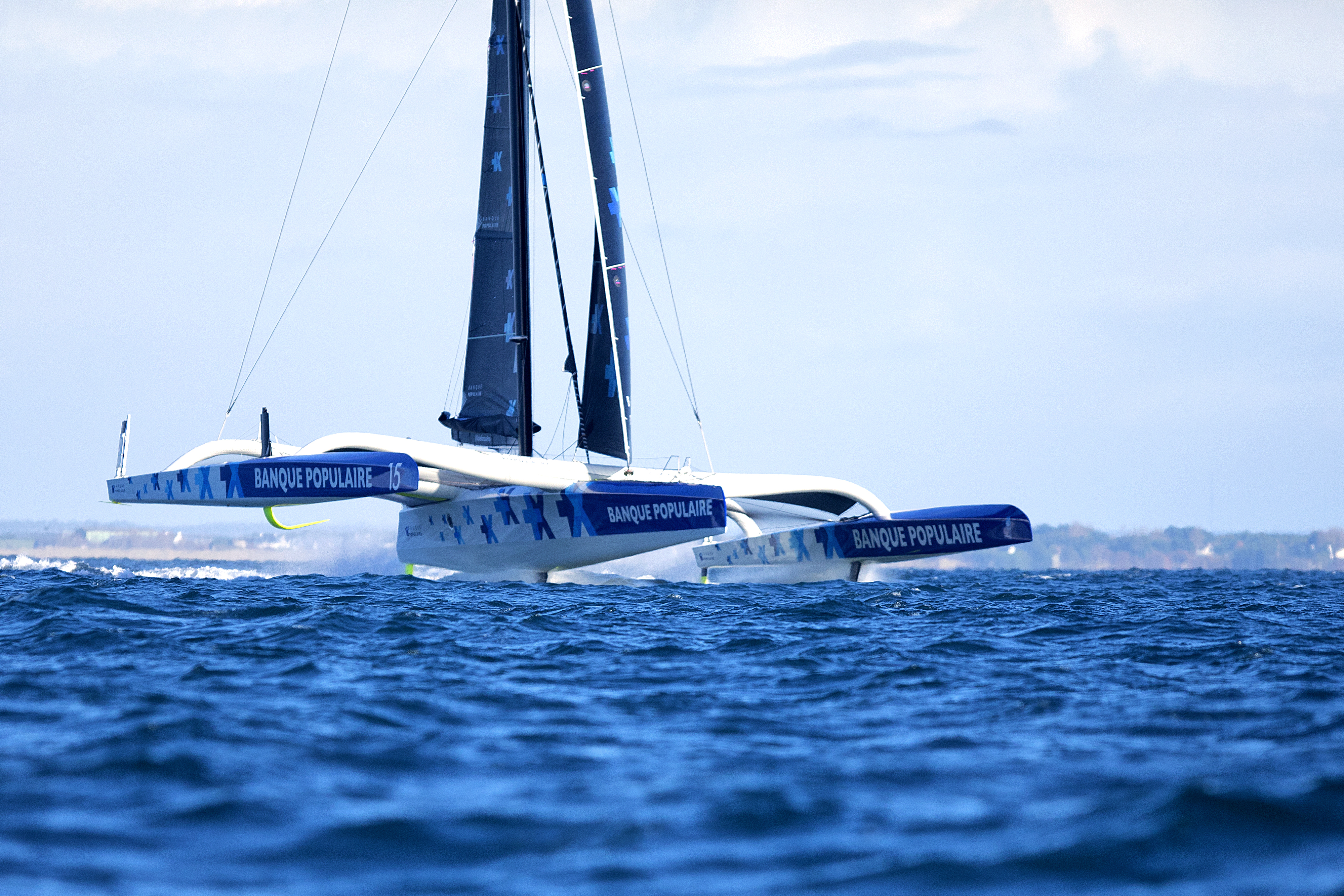 Banque Populaire IX, le bateau d'Armel Le Cleac'h a chaviré — Nice UltiMed