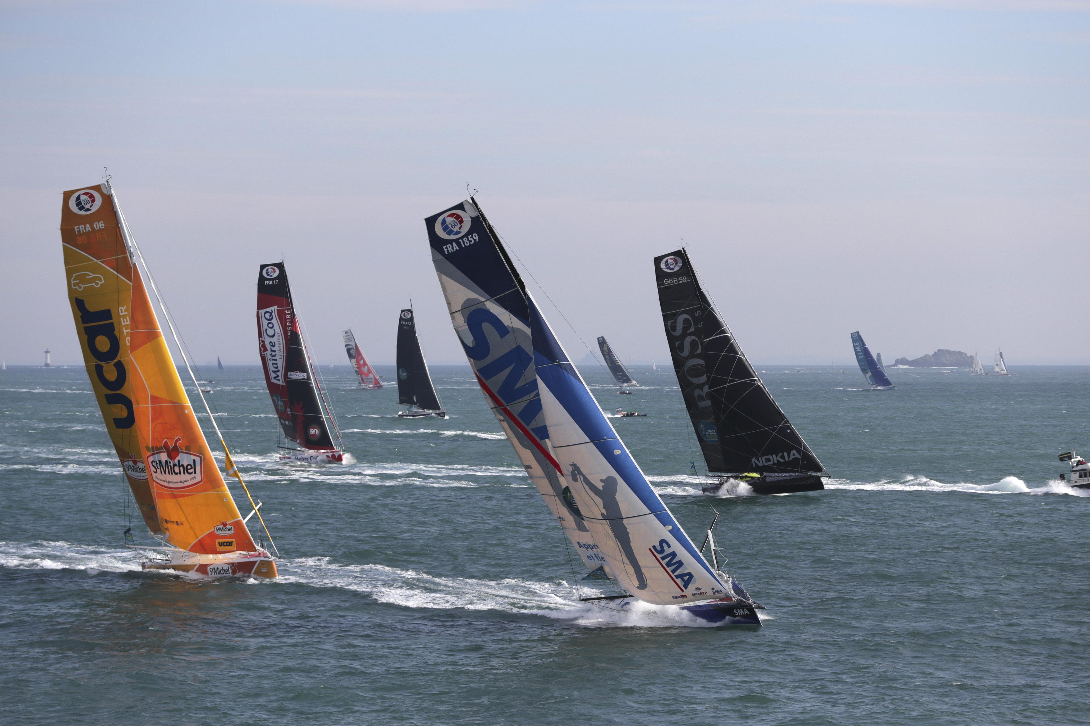 Analyse de la course Imoca par Thomas Ruyant