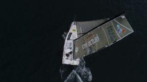 Normandy Channel Race. Eärendil et Aïna Enfance et Avenir seuls en tête