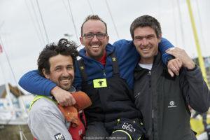 François Jambou et Ambrogio Beccaria en tête de la Mini en Mai