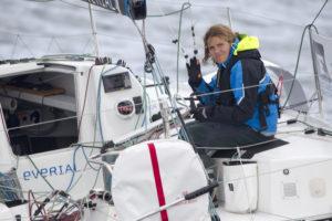 La Solitaire. Clarisse sur l'Atlantique devant Armel le Cleac'h !