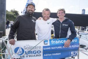 La Solitaire Urgo Le Figaro. Adrien Hardy remporte la deuxième étape