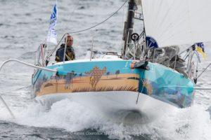 La Solitaire Urgo Le Figaro. Le beau retour d'Adrien Hardy en tête à Portsall